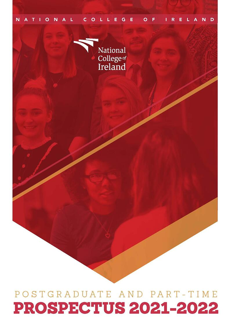 Pages from NCI Prospectus Postgraduate and Part-Time 2021 - 2022